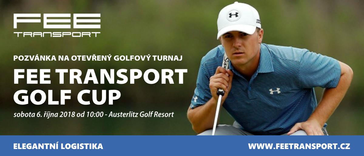 FEE Transport Golf Cup - otevřený turnaj