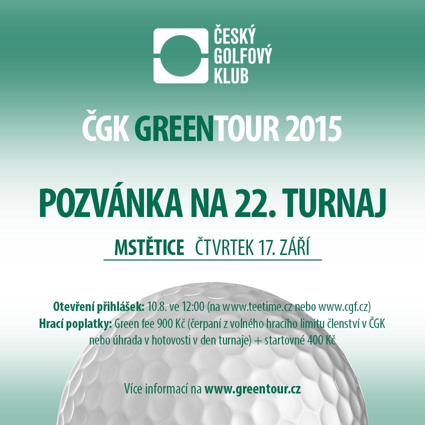 ČGK GREENTOUR 2015 - START 11:50