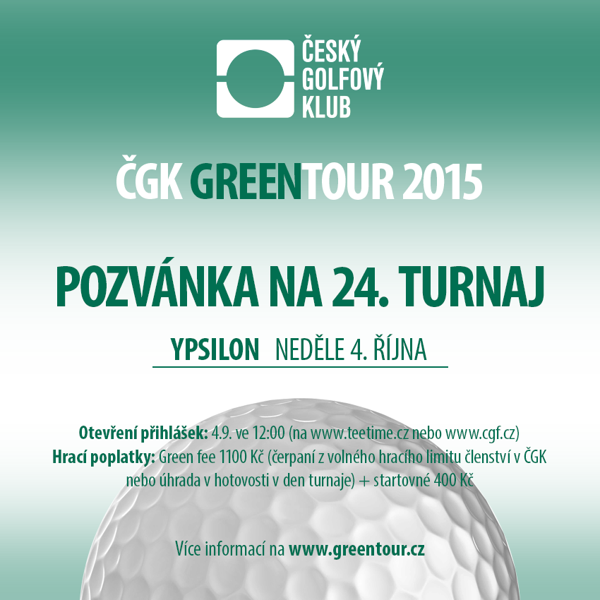 ČGK GREENTOUR 2015 - Finále