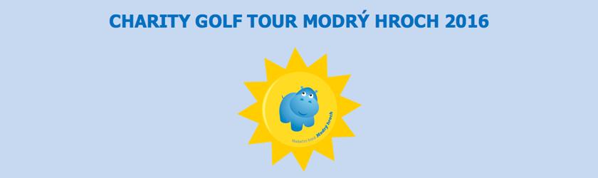 CHARITY GOLF TOUR MODRÝ HROCH 2017 - KOŘENEC (benefiční turnaj)