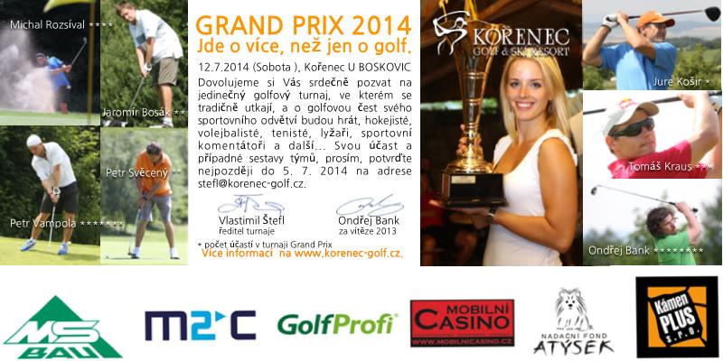 GRAND PRIX KOŘENEC 2014 aneb turnaj hvězd...