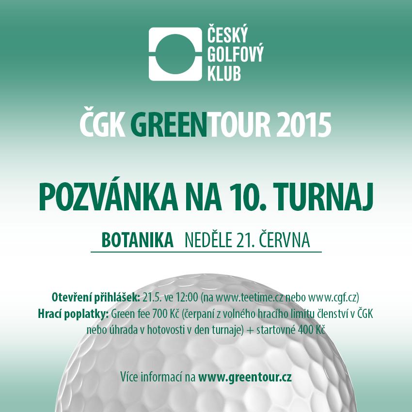 ČGK GREENTOUR 2015 - postupný start 9:00!