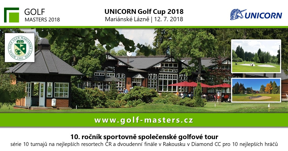 GOLF MASTERS TOUR - UNICORN GOLF CUP 2018