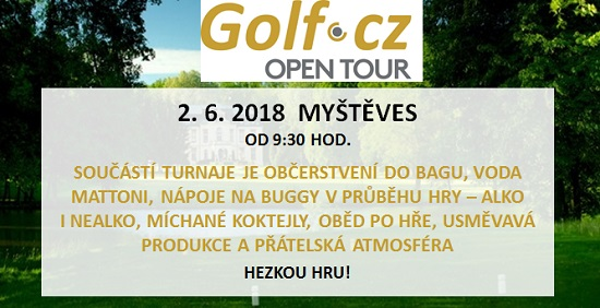 Golf.cz Open Tour - TURNAJ ZRUŠEN!