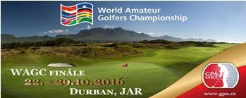 "WAGC - WORLD AMATEUR GOLFERS CHAMPIONSHIP 2016 - Kvalifikační turnaj ""MORAVA"""
