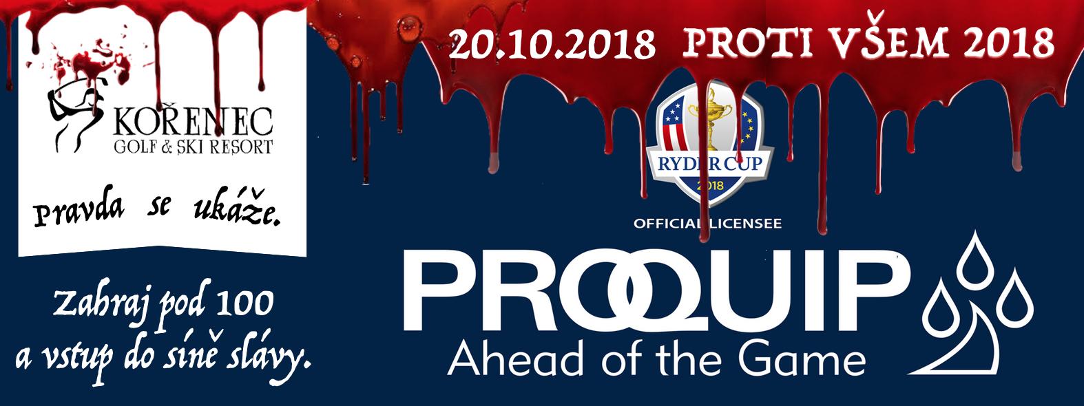 PROTI VŠEM 2018 by PROQUIP GOLF