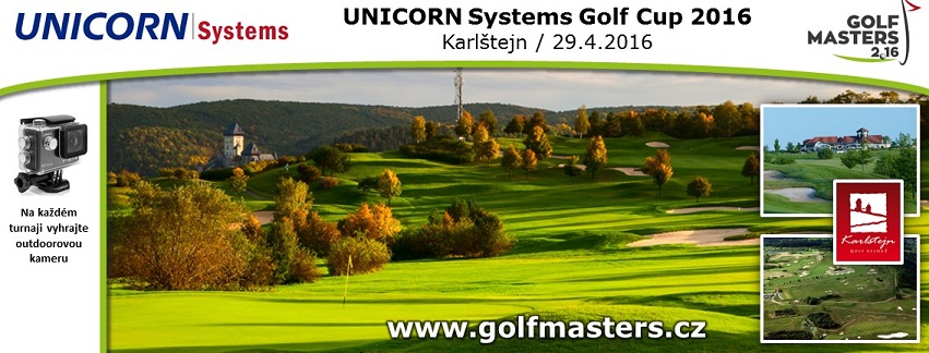 UNICORN Systems Golf Cup 2016 – GOLF MASTERS 2016 presented by Golfista roku