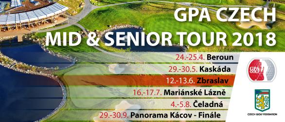 3. GPA Czech Mid & Senior Tour - turnaj MID-amatérů
